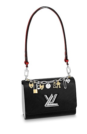 Louis Vuitton TWIST MM M52894 black