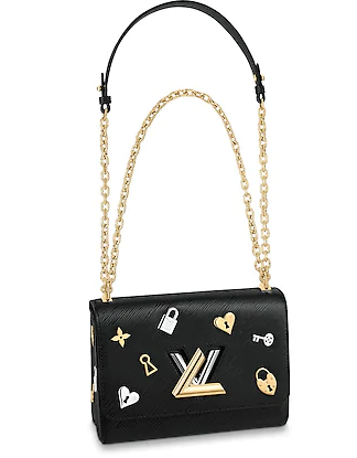 Louis Vuitton TWIST MM M52890 Noir