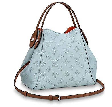 Louis vuitton original HINA PM M52975 BLEU HORIZON PUMPKIN