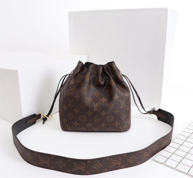 Louis Vuitton Monogram Canvas NOE POUCH M43445 black