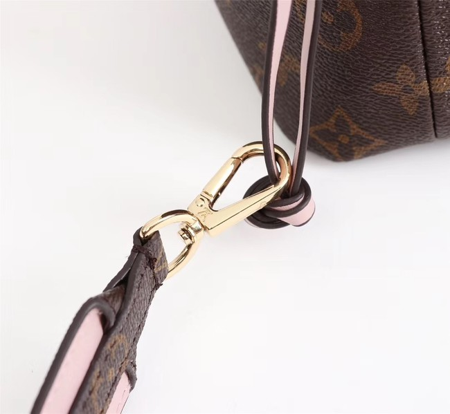Louis Vuitton Monogram Canvas NOE POUCH M43445 pink