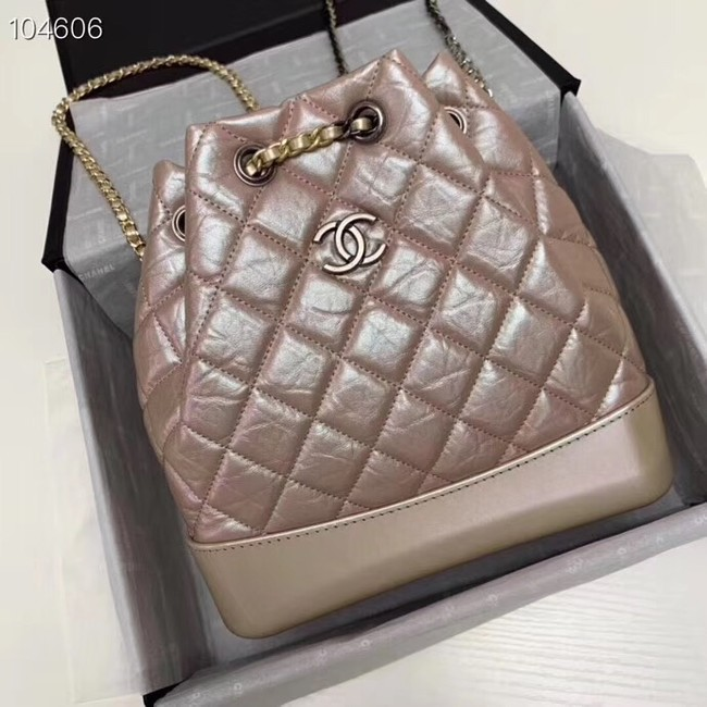 Chanel gabrielle backpack A94501 pink