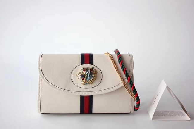 Gucci GG Marmont small shoulder bag 570145 white