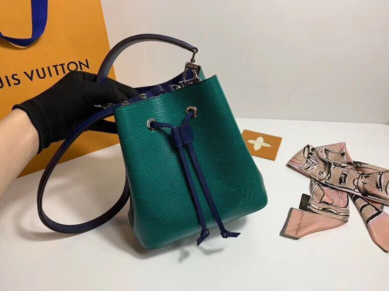 Louis Vuitton Original Epi Leather Neonoe BB Bag M53612 Green