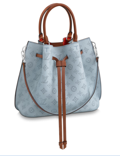 Louis Vuitton Original GIROLATA M53154 BLEU HORIZON PUMPKIN