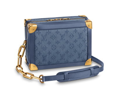 Louis vuitton original SOFT TRUNK M44723 blue