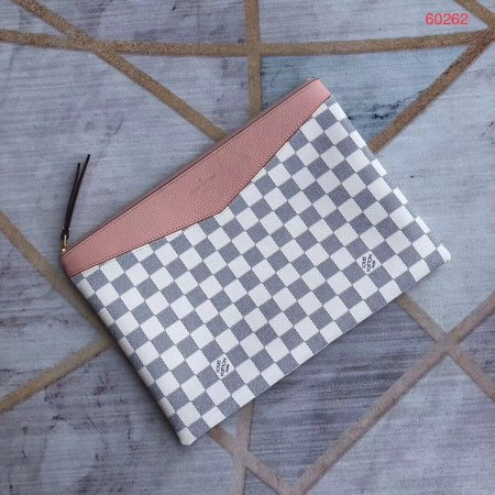 Louis vuitton original Damier Azur DAILY M60262 pink