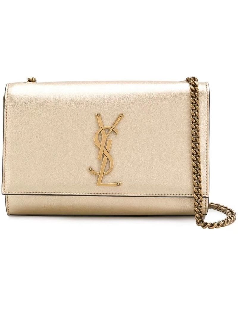 Yves Saint Laurent Kate Small Sheepskin Shoulder Bag Y469390 Gold