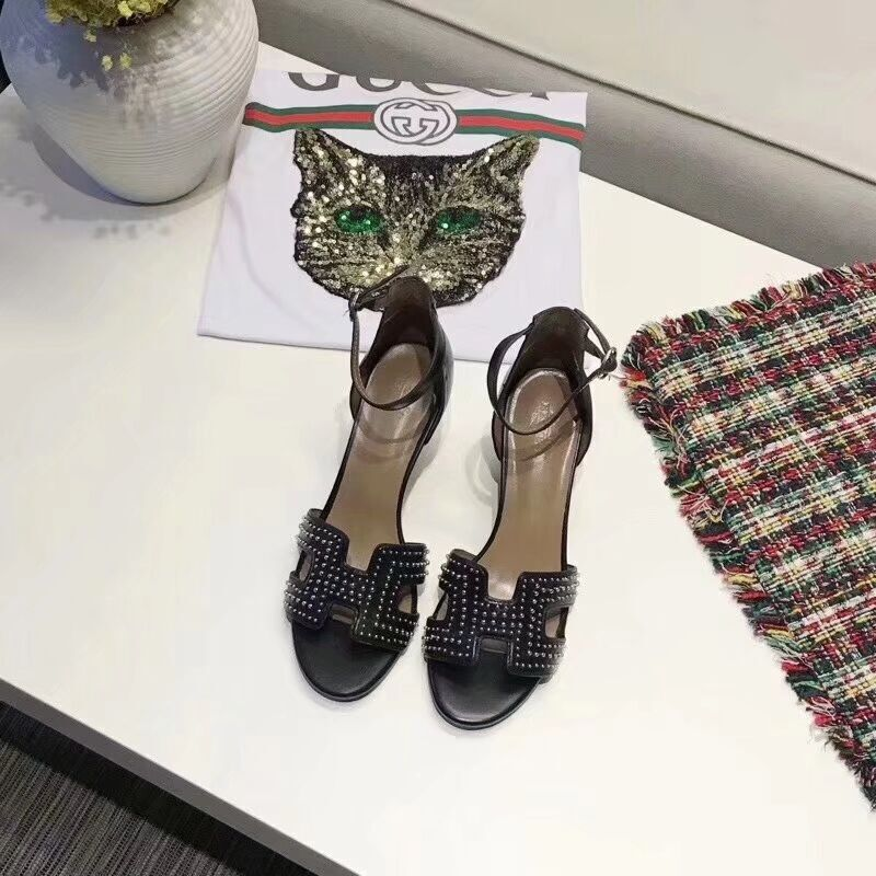 Hermes Shoes HM57097 Black