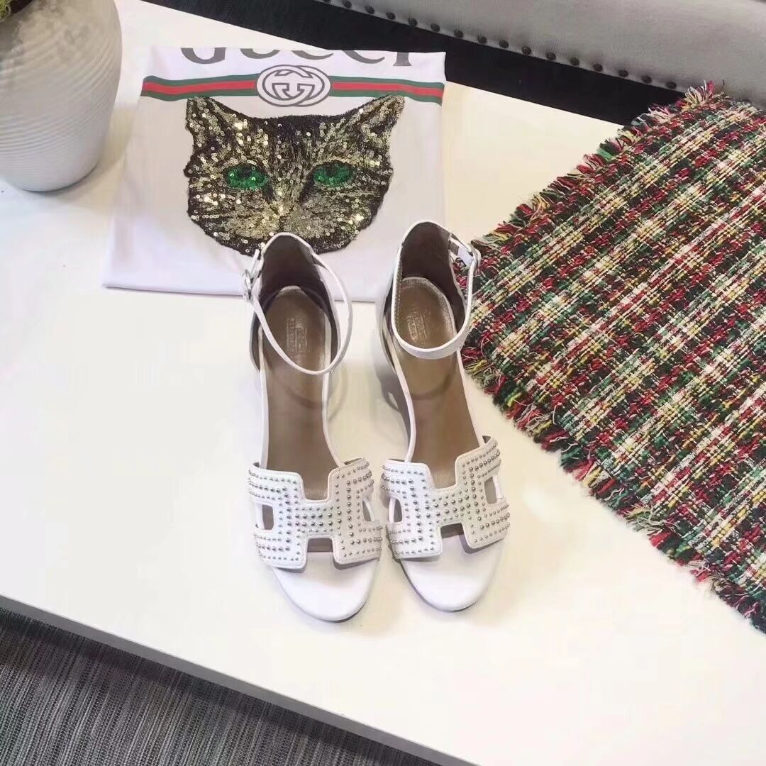 Hermes Shoes HM57097 White