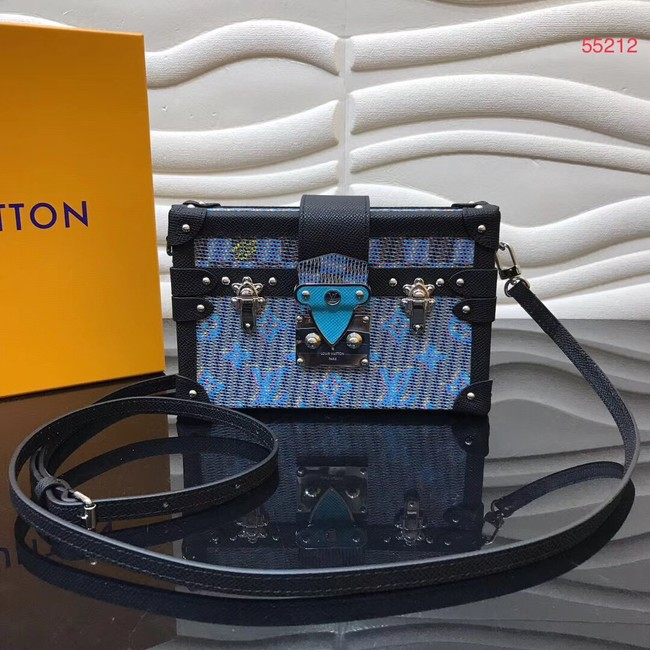 Louis vuitton original PETITE MALLE M55468 blue