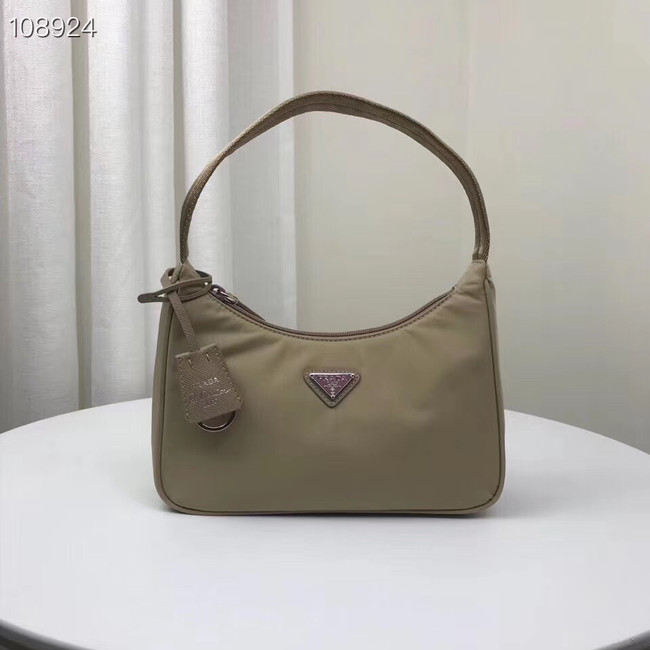 Prada Re-Edition 2000 nylon mini-bag 1NE515 Khaki