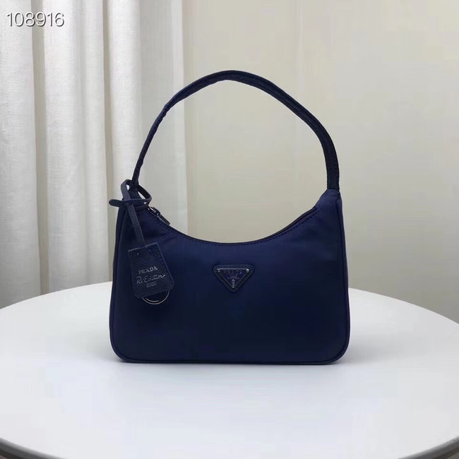 Prada Re-Edition 2000 nylon mini-bag 1NE515 blue