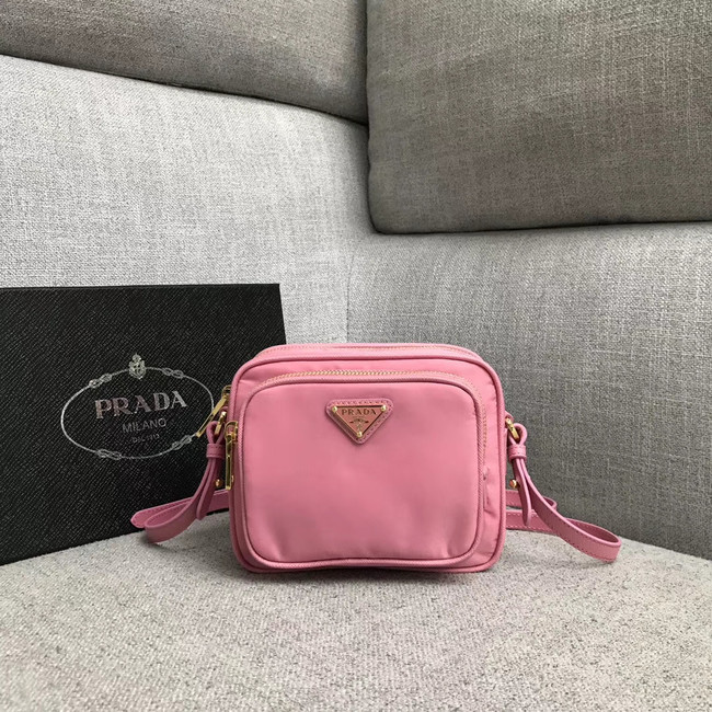 Prada Nylon Shoulder Bag 82022 pink