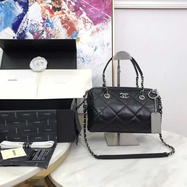 Chanel Bowling Bag AS1321 black