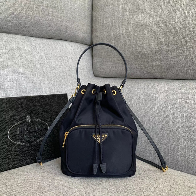 Prada Re-Edition nylon Tote bag 81166 dark blue