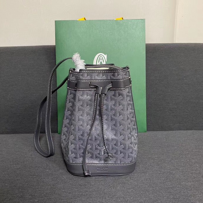 Goyard petit flot drawstring Bag G6959 grey