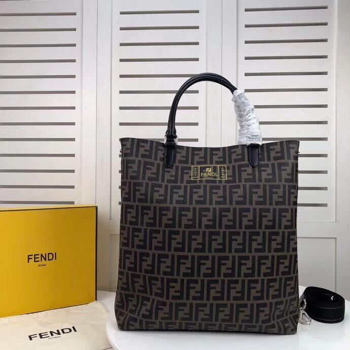 FENDI Shopper fabric F5052 black