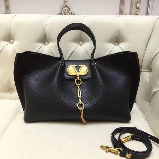 VALENTINO Origianl leather tote 2080 black