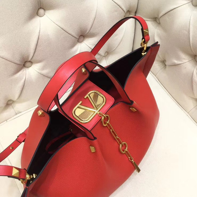 VALENTINO Origianl leather tote 2080 red