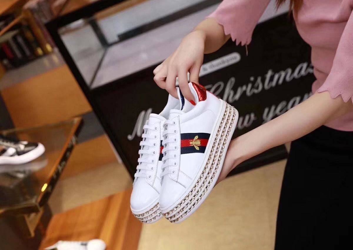 Gucci Sneaker Shoes GG9632-2 Bee