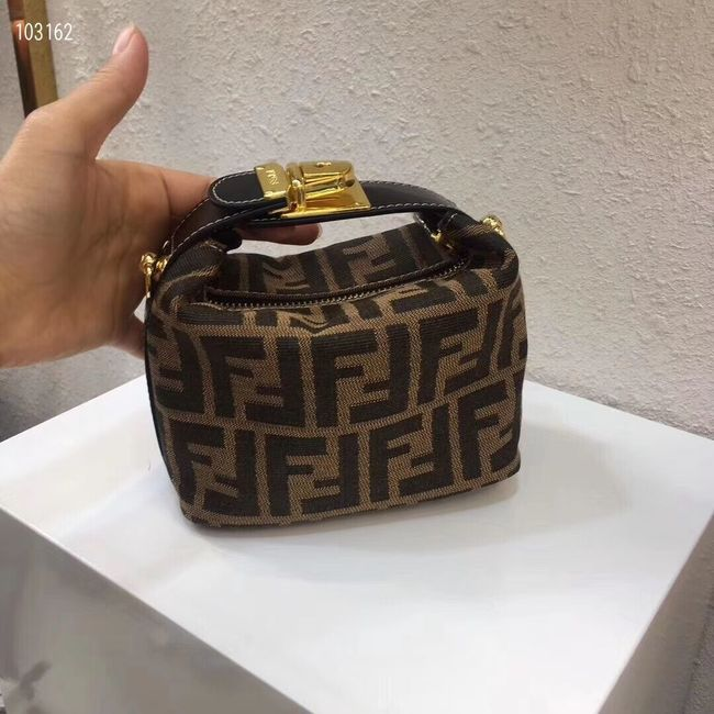 FENDI fabric bag 8BR051 black