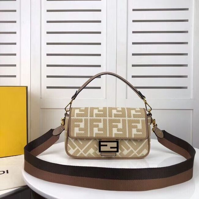 FENDI fabric bag F0386 Beige