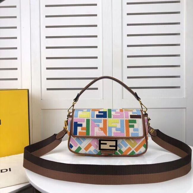 FENDI fabric bag F0386 Rainbow