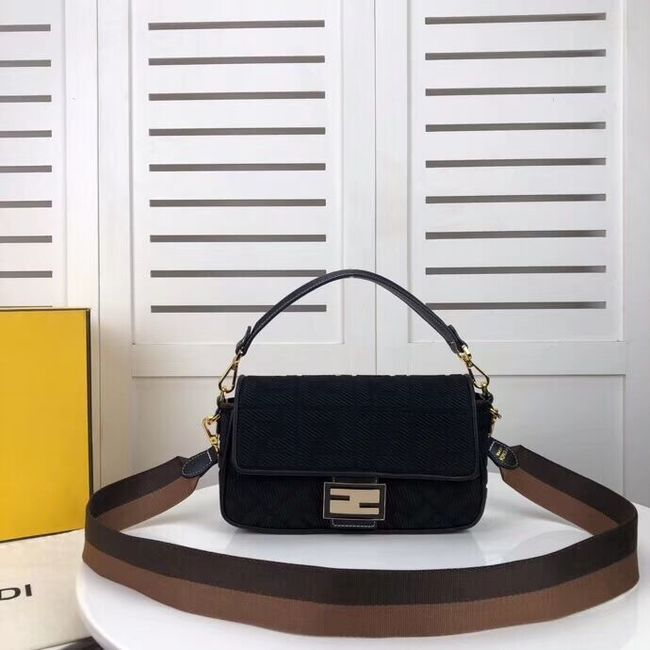 FENDI fabric bag F0386 black