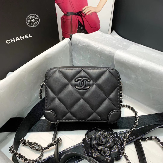CHANEL 2020 New Style Original Leather Ball Grain Bag AP1132 black
