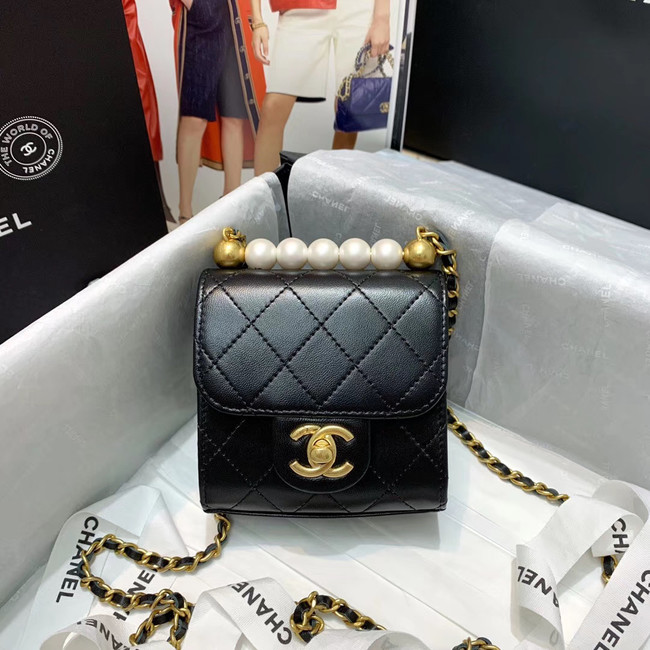 Chanel flap bag AP0997 black