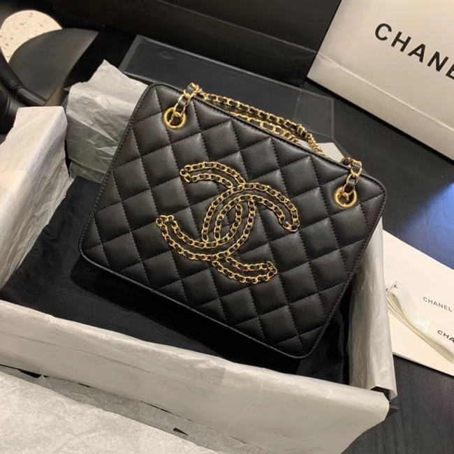 CHANEL 2020 New Style Original Leather AS1516 black