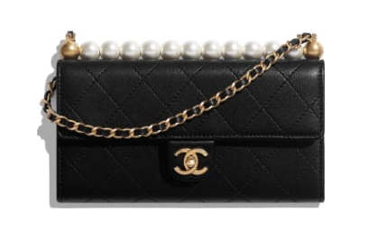 Chanel flap bag AP1001 black