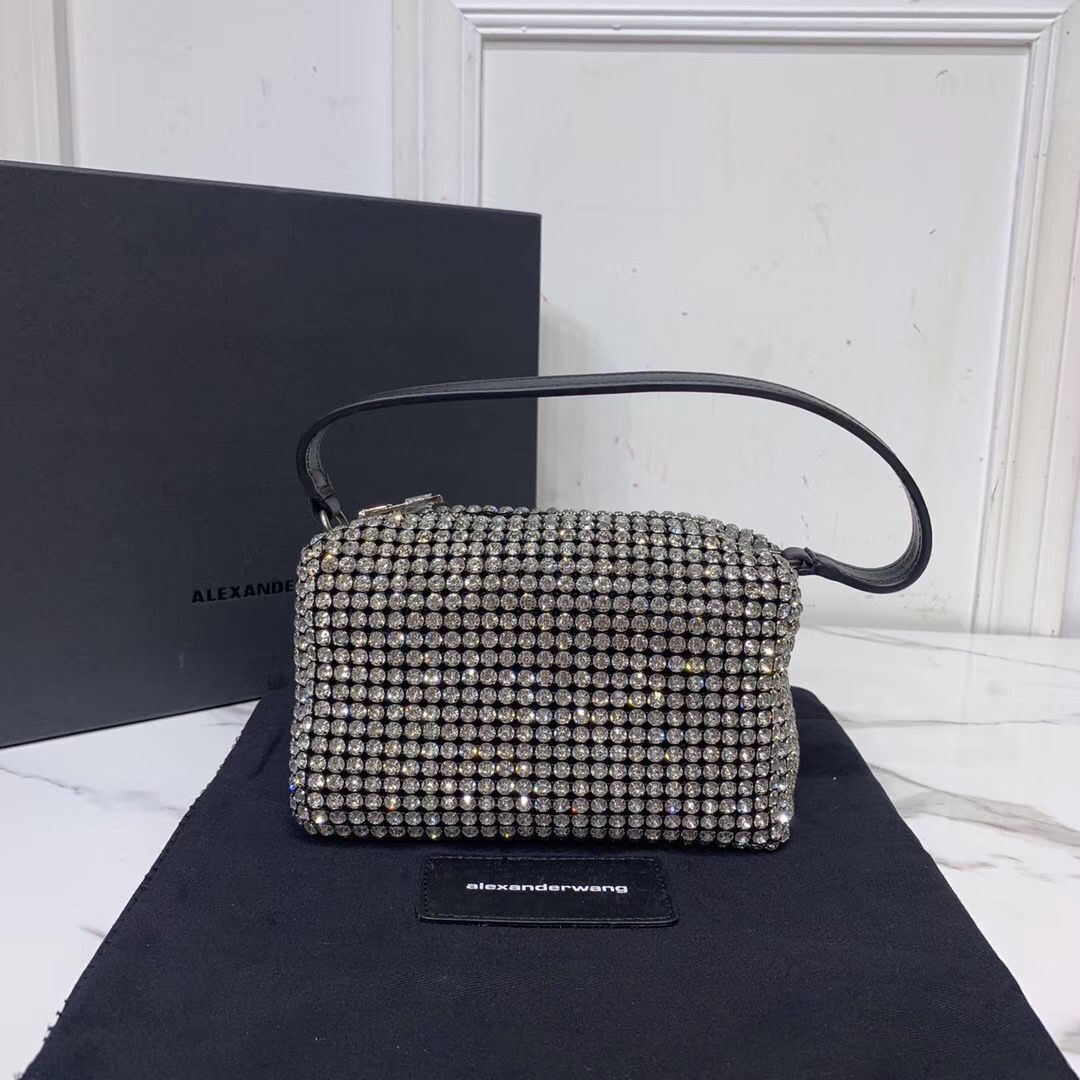 Alexander Wang Diamond Bag AW8979 Black