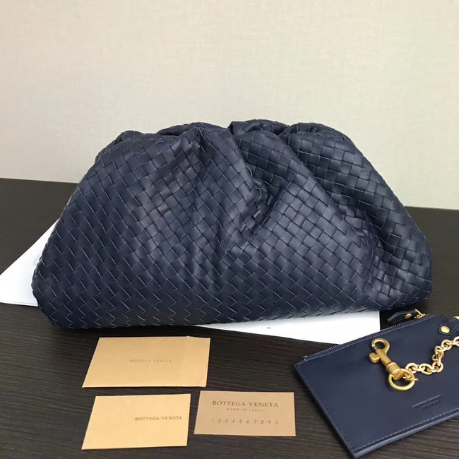 Bottega Veneta Weave Clutch bag 585853 blue