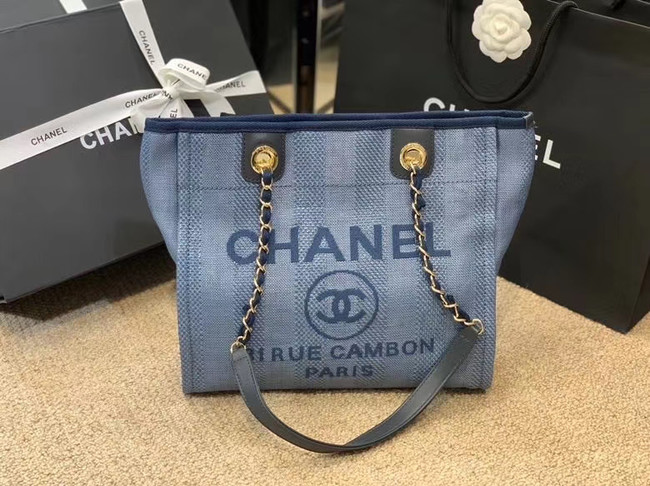 Chanel Shoulder Bag A66942 blue