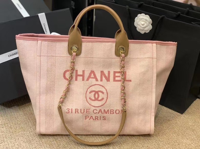 Chanel Shopping bag A66941 pink