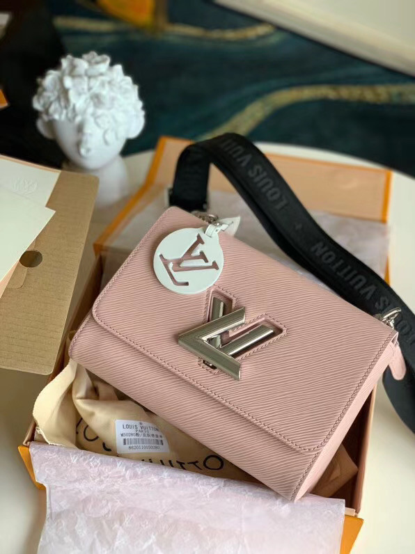 Louis vuitton original epi leather TWIST M50280 pink