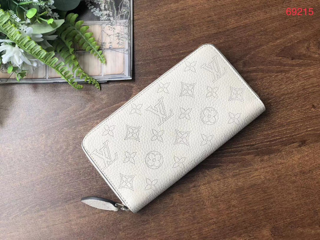 Louis vuitton original Iris ZIPPY Wallet M69032 white