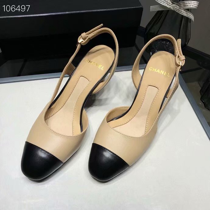 Chanel Casual Shoes CH2598TZC-1 Heel height 6CM