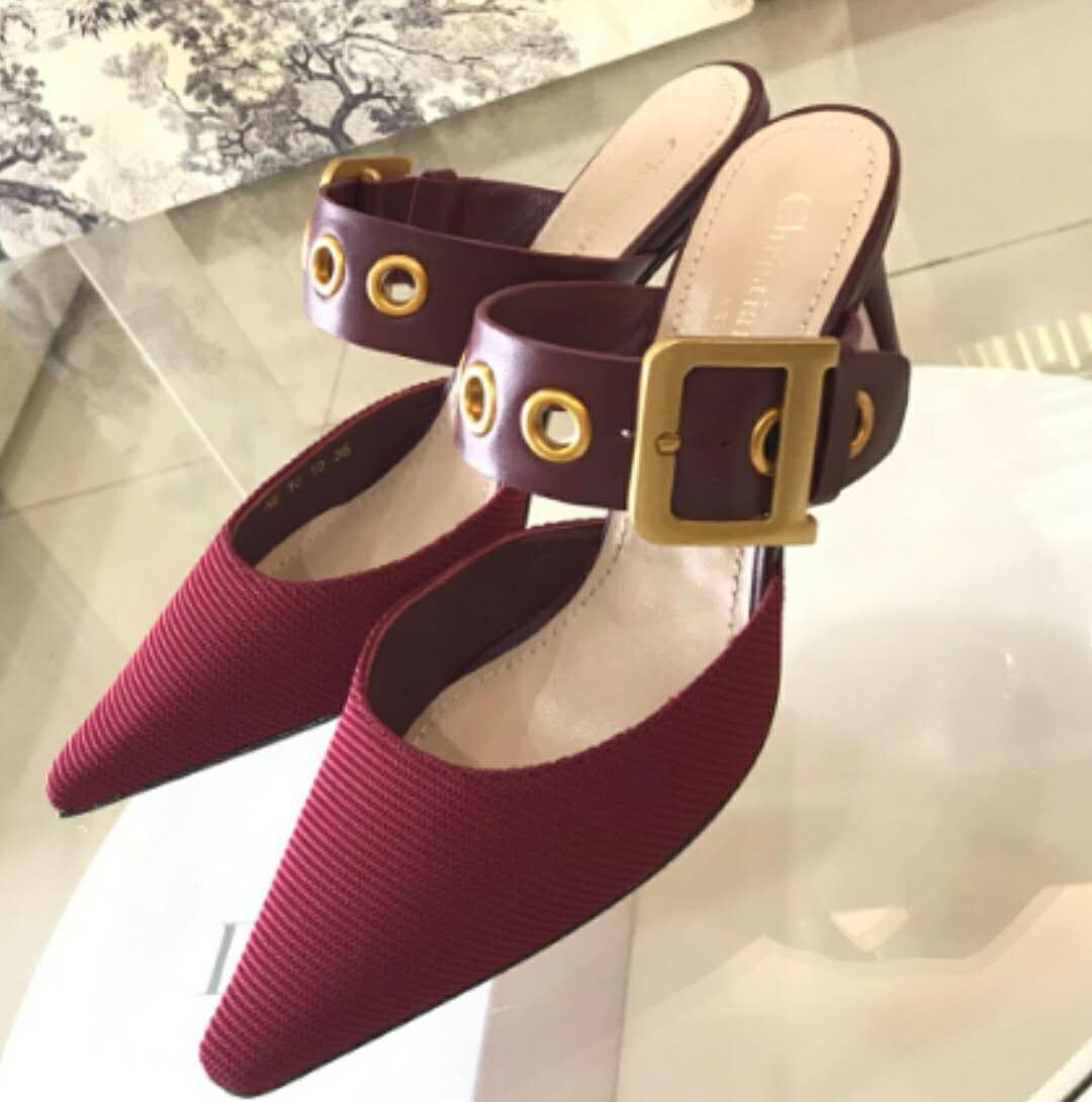 Dior Shoes Dior3698 Wine