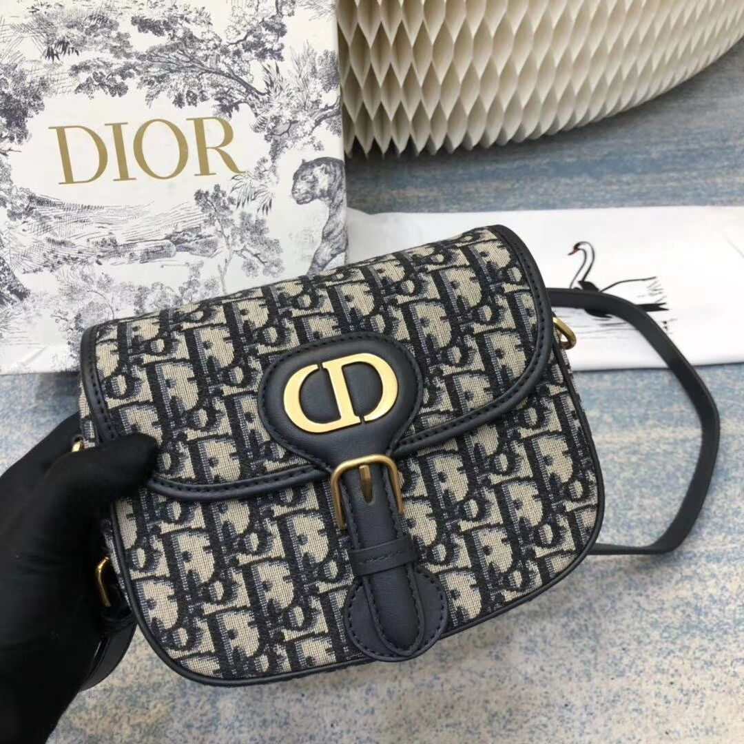 DIOR OBLIQUE BAG medium C0268 BLUE