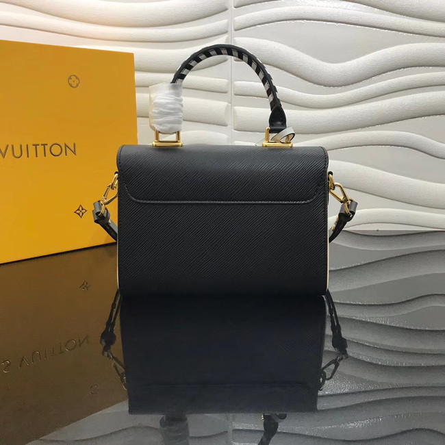 Louis vuitton original CRAFTY TWIST tote bag  M56780 black