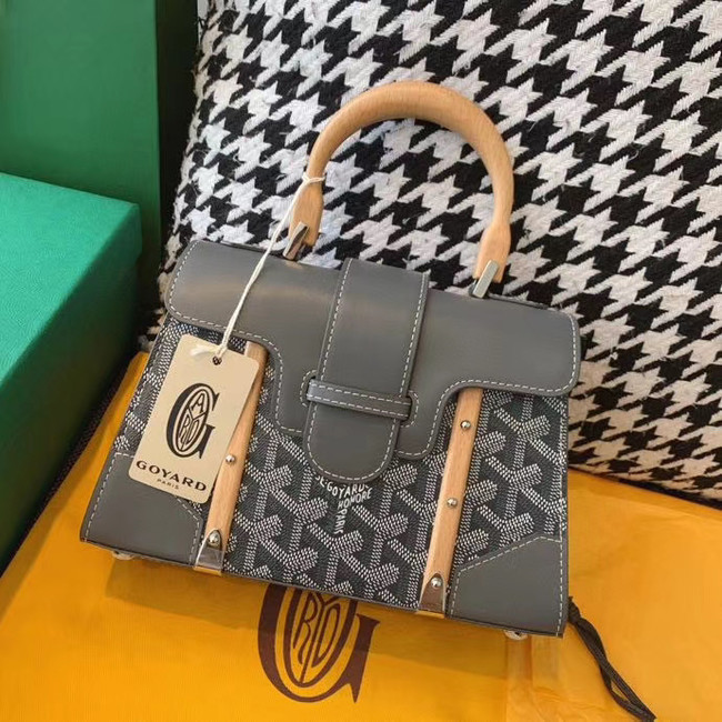 Goyard mini saigon tote bag 55632 grey