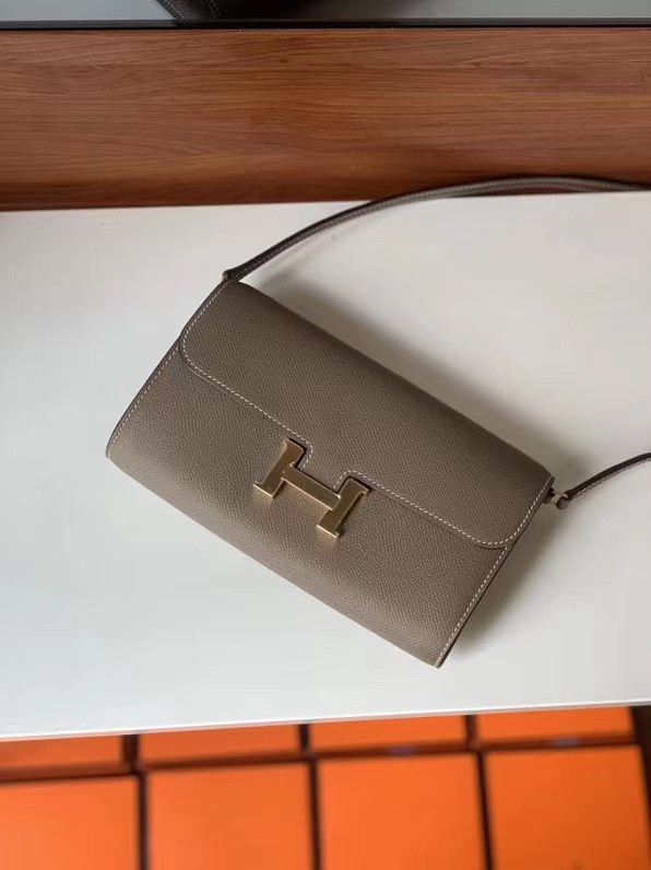 Hermes Constance to go mini Bag H4088 grey