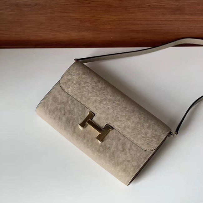 Hermes Constance to go mini Bag H4088 light grey