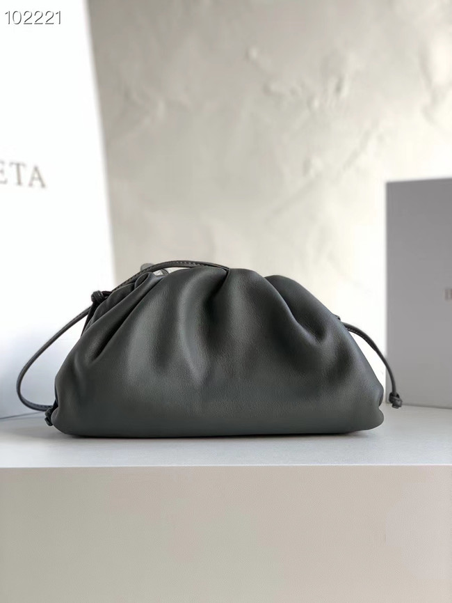 Bottega Veneta THE MINI POUCH 585852 dark grey