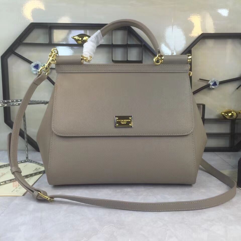 Dolce & Gabbana Origianl Leather 4138 Large grey