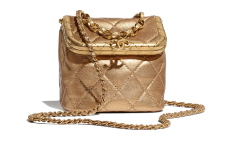 Chanel Original mini Magnet buckle bag AS1885 gold
