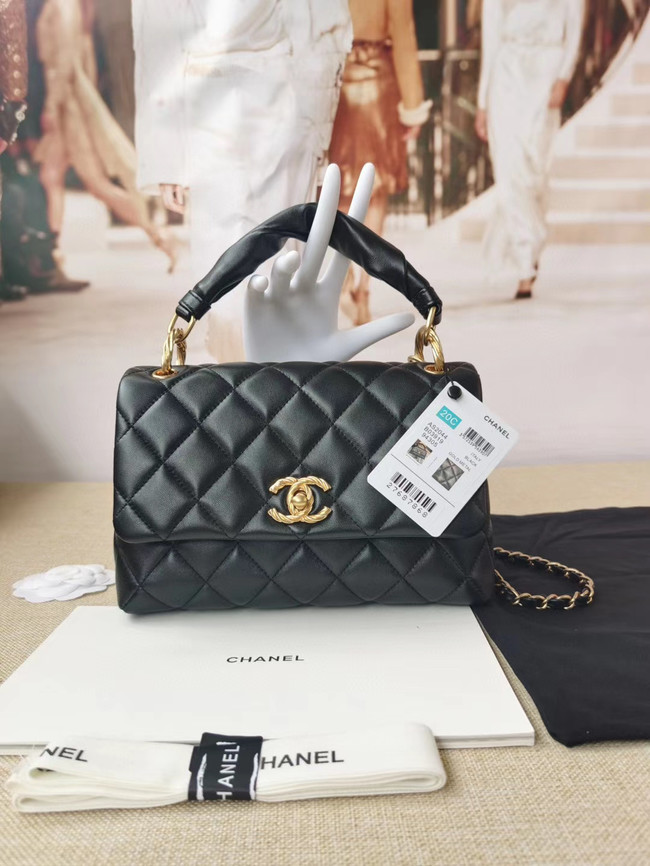 Chanel Original Lather Flap Bag AS2044 black